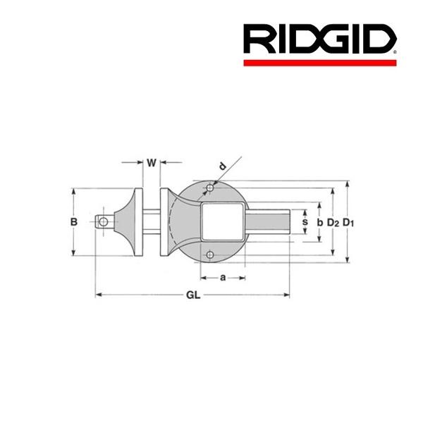 Imadło stołowe Superior 1/2''-4'' RIDGID
