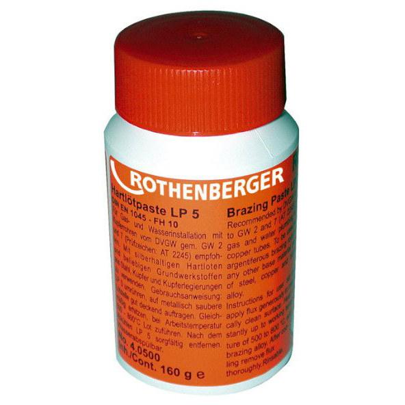 Pasta do lutowania na twardo LP 5 40500 ROTHENBERGER