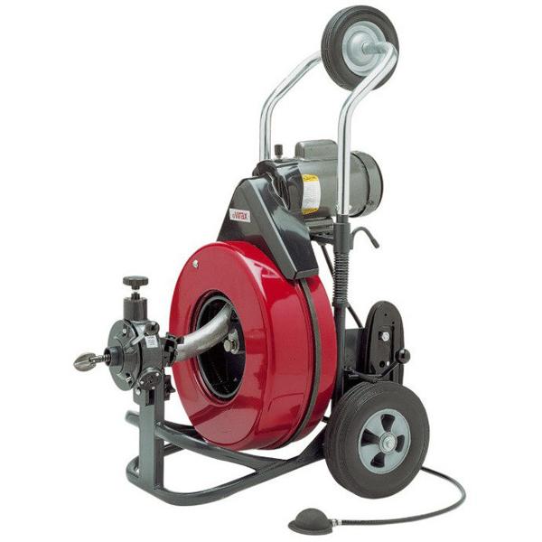 Przenośny bębnowy przepychacz elektryczny VAL 80 / VAL 80E VIRAX [RÓŻNE MODELE DO WYBORU]