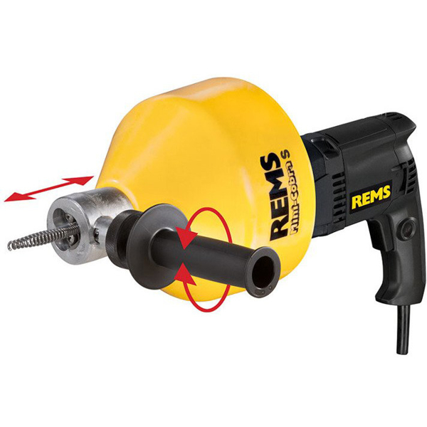 REMS Mini-Cobra S SET Elektryczny przyrząd do czyszczenia rur