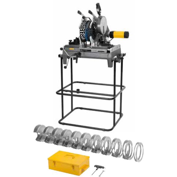 REMS SSM 160RS - maszyna do zgrzewania czołowego rur i kształtek (PB, PE, PP, PVDF, PE)