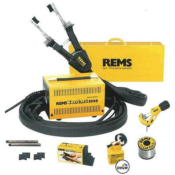 Rems Contact 2000 Super-Pack Lutownica elektryczna do lutowania miękkiego 6-54 mm