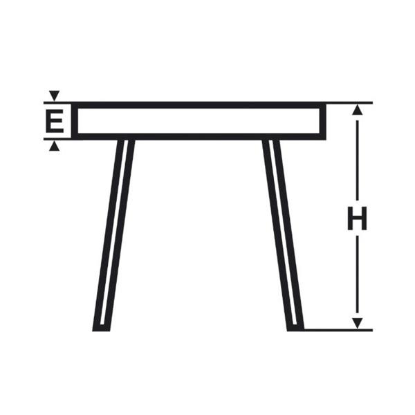 Stół składany przenośny VIRAX 200500