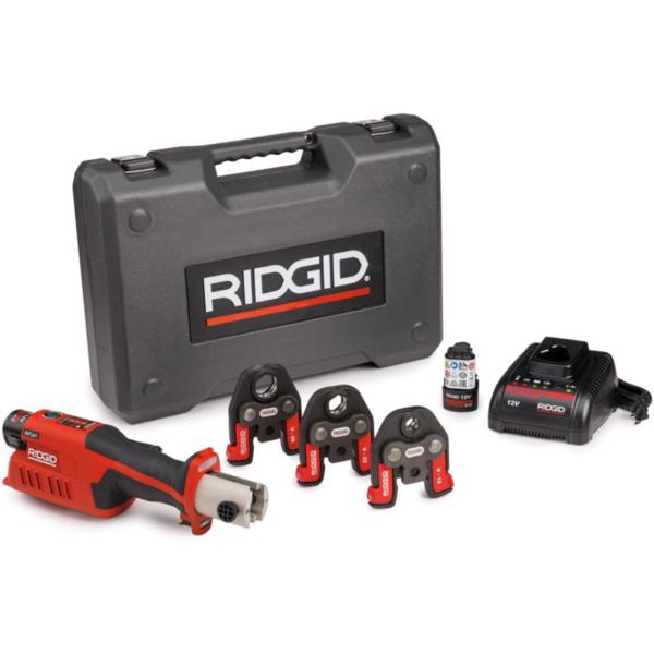 ZACISKARKA RIDGID RP 241 ZESTAW U 16 - 20 - 25  Bluetooth