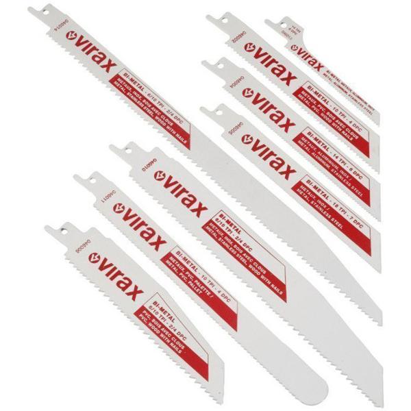 Zestaw 5 brzeszczotów z hss bi-metal VIRAX 046011